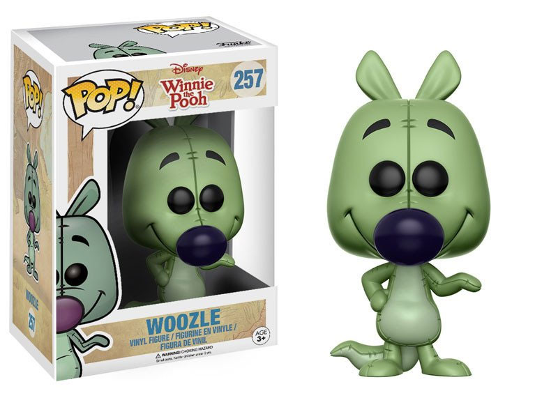 Winnie the Pooh POP! Disney Vinyl Figure Woozle 9 cm