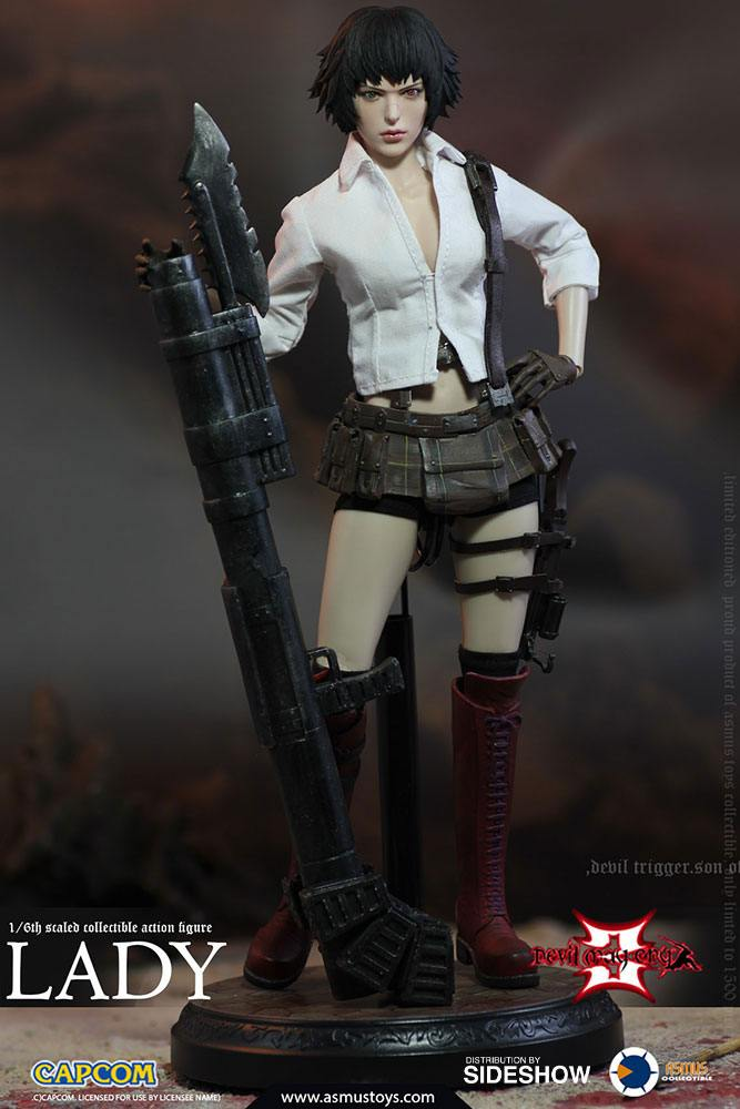 Devil May Cry 3 Action Figure 1/6 Lady 28 cm