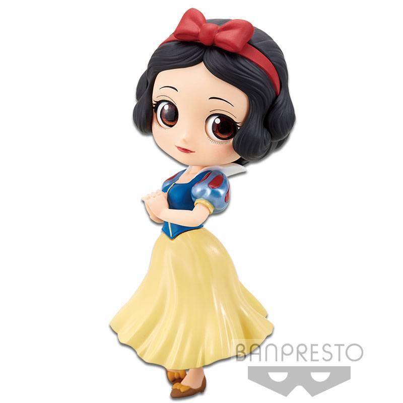 Disney Q Posket Mini Figure Snow White A Normal Color Version 14 cm