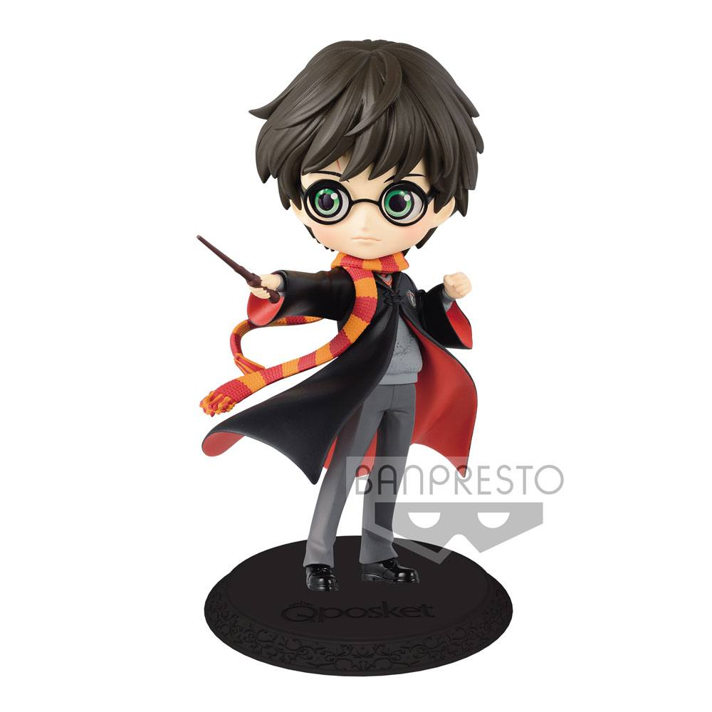 Harry Potter Q Posket Mini Figure Harry Potter A Normal Color Version 14 cm
