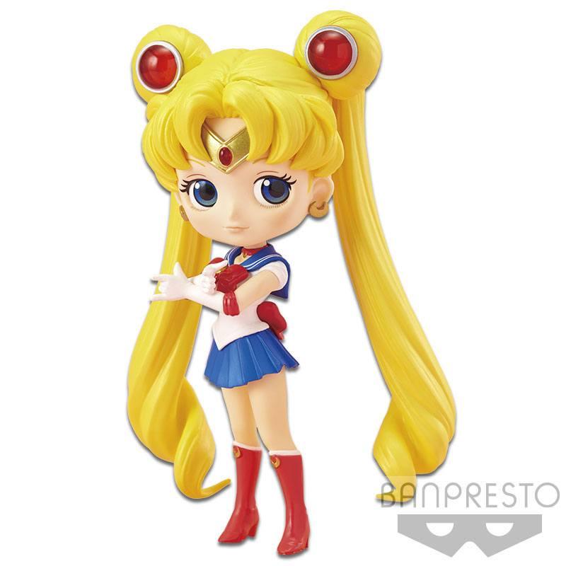 Sailor Moon Q Posket Mini Figure Sailor Moon 14 cm