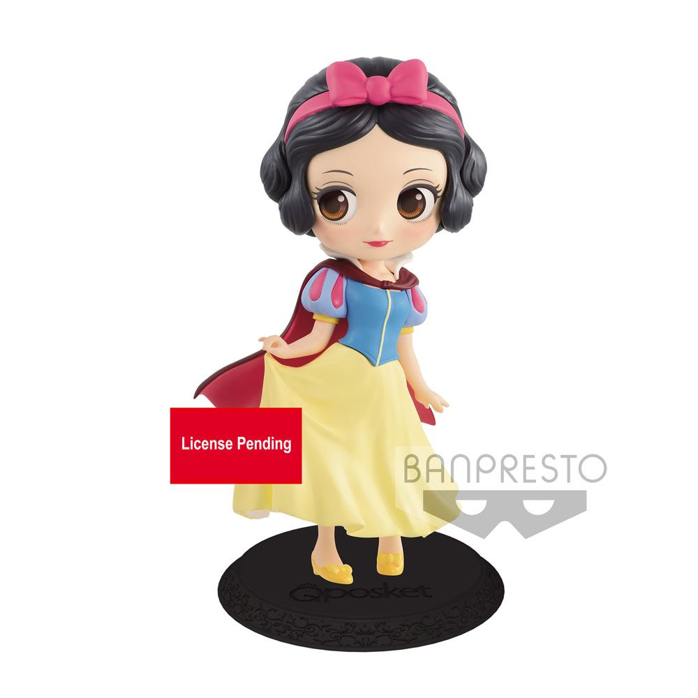 Disney Q Posket Mini Figure Snow White Sweet Princess Ver. B 14 cm