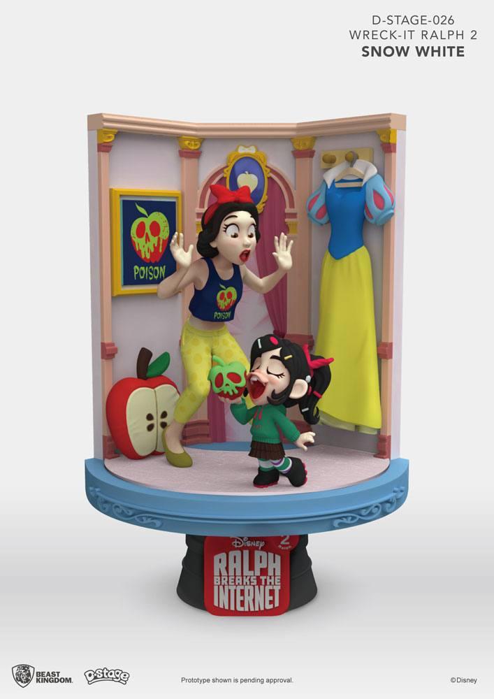 Ralph Breaks the Internet D-Stage PVC Diorama Snow White & Vanellope 15 cm