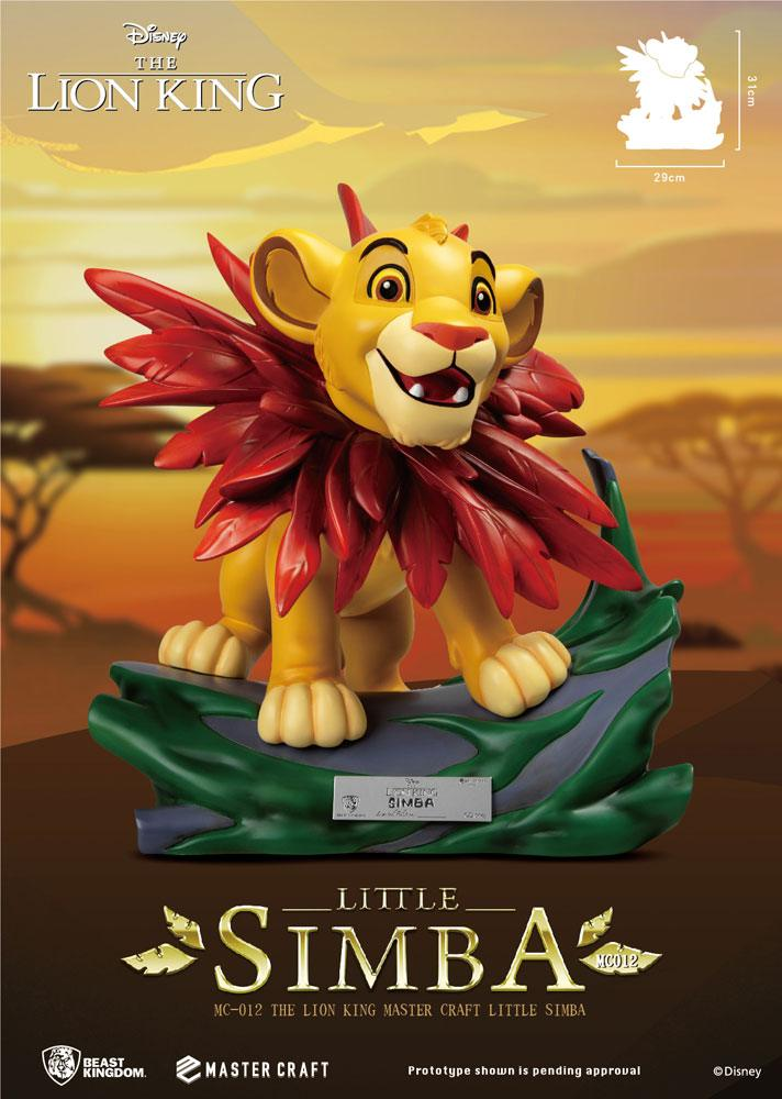 Disney (The Lion King) Master Craft Statue Little Simba 31 cm