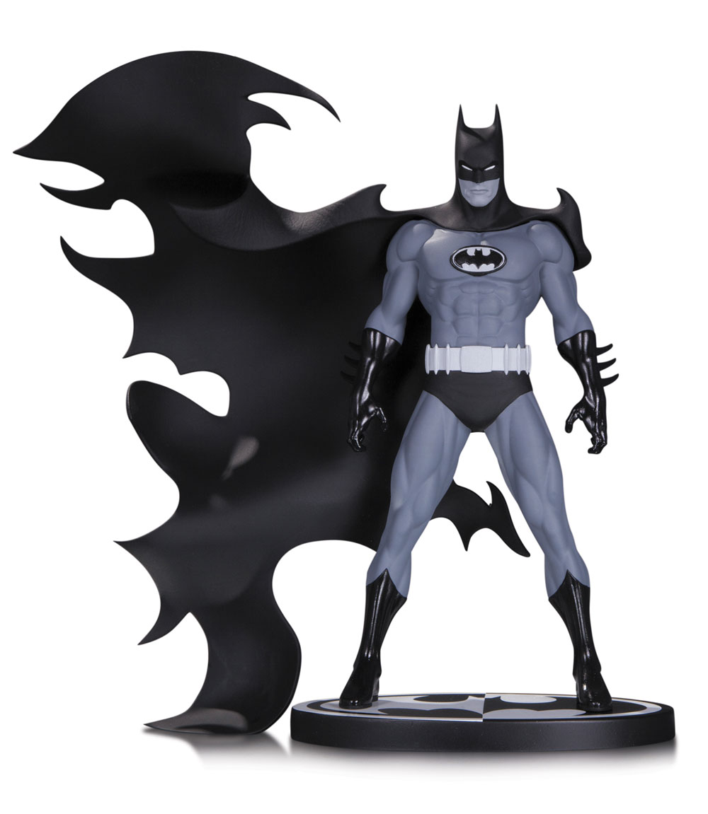 Batman Black & White Statue Batman by Norm Breyfogle 20 cm