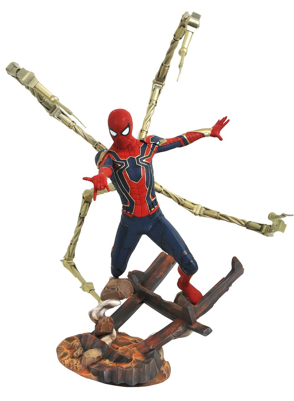 Avengers Infinity War Marvel Premier Collection Statue Iron Spider 30 cm