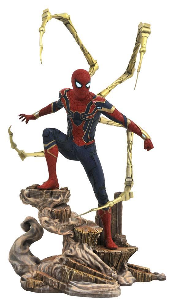 Avengers Infinity War Marvel Movie Gallery PVC Statue Iron Spider-Man 23 cm