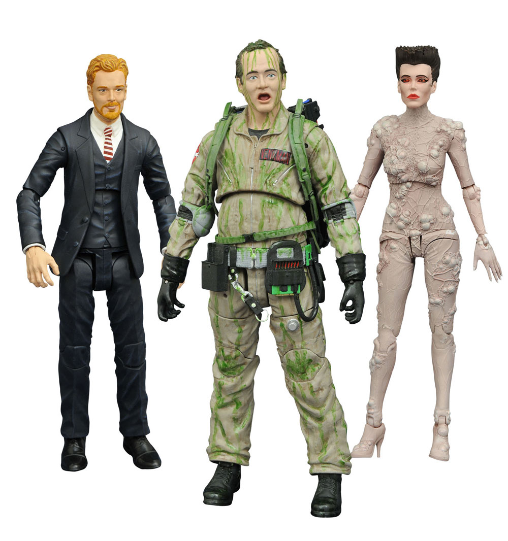 Ghostbusters Select Action Figures 18 cm Series 4 Set di 3 Action Figures