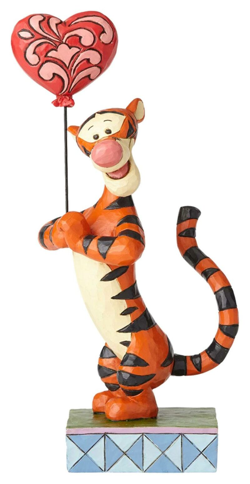 Disney Traditions Statue Tigger with Heart Balloon (Winnie the Pooh) 19 cm
