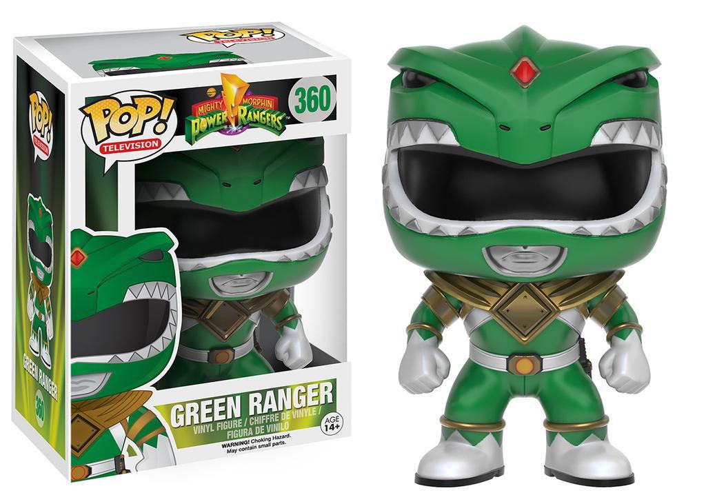 Power Rangers POP! Television Vinyl Figure Green Ranger 9 cm