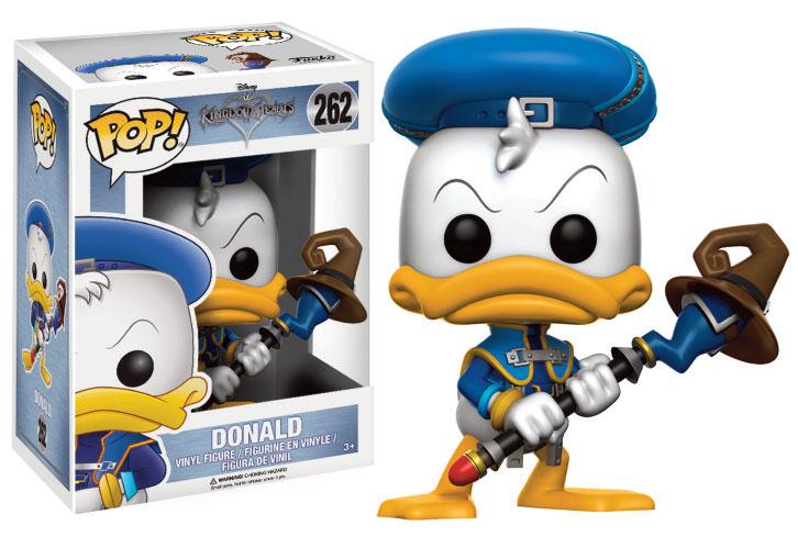 Kingdom Hearts POP! Disney Vinyl Figure Donald 9 cm