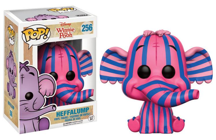 Winnie the Pooh POP! Disney Vinyl Figure Heffalump (Pink & Purple Stripe) 9 cm