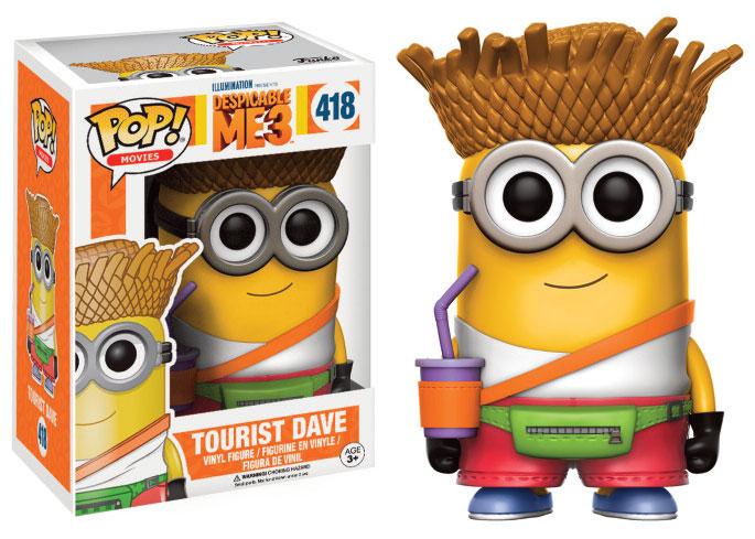 Despicable Me 3 POP! Tourist Dave 9 cm