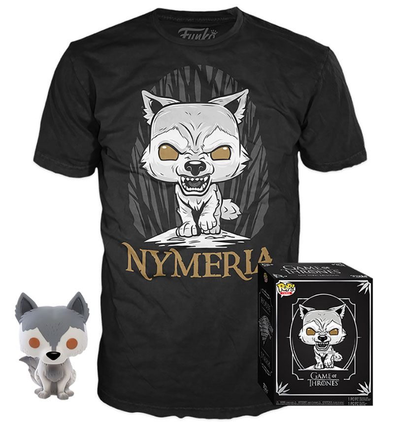 Game of Thrones POP! & Tee Box Nymeria