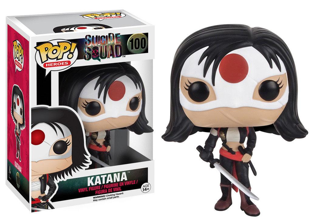 Suicide Squad POP! Heroes Vinyl Figure Katana 9 cm