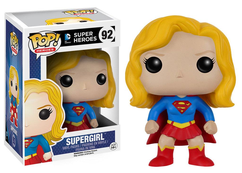 DC Comics POP! Heroes Vinyl Figure Supergirl 9 cm