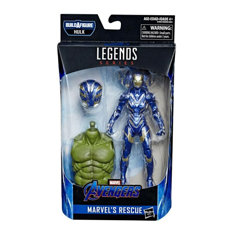 Marvel Legends Series Avengers 2019 Wave 2 Action Figure Marvel's Rescue (Avengers Endgame) 15 cm