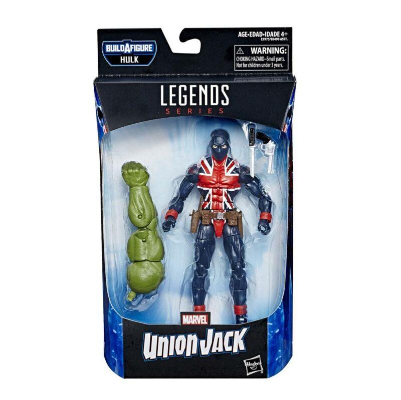 Marvel Legends Series Avengers 2019 Wave 2 Action Figure Union Jack (Marvel's Comics) 15 cm