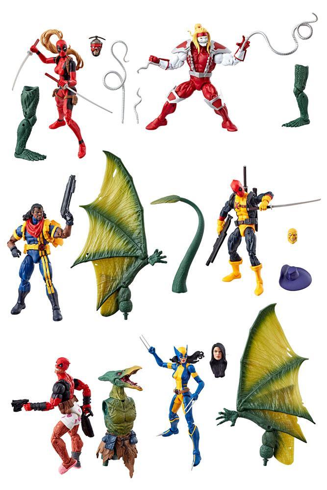 Marvel Legends Series Action Figures 15 cm Deadpool 2018 Wave 2 Assortment (6)