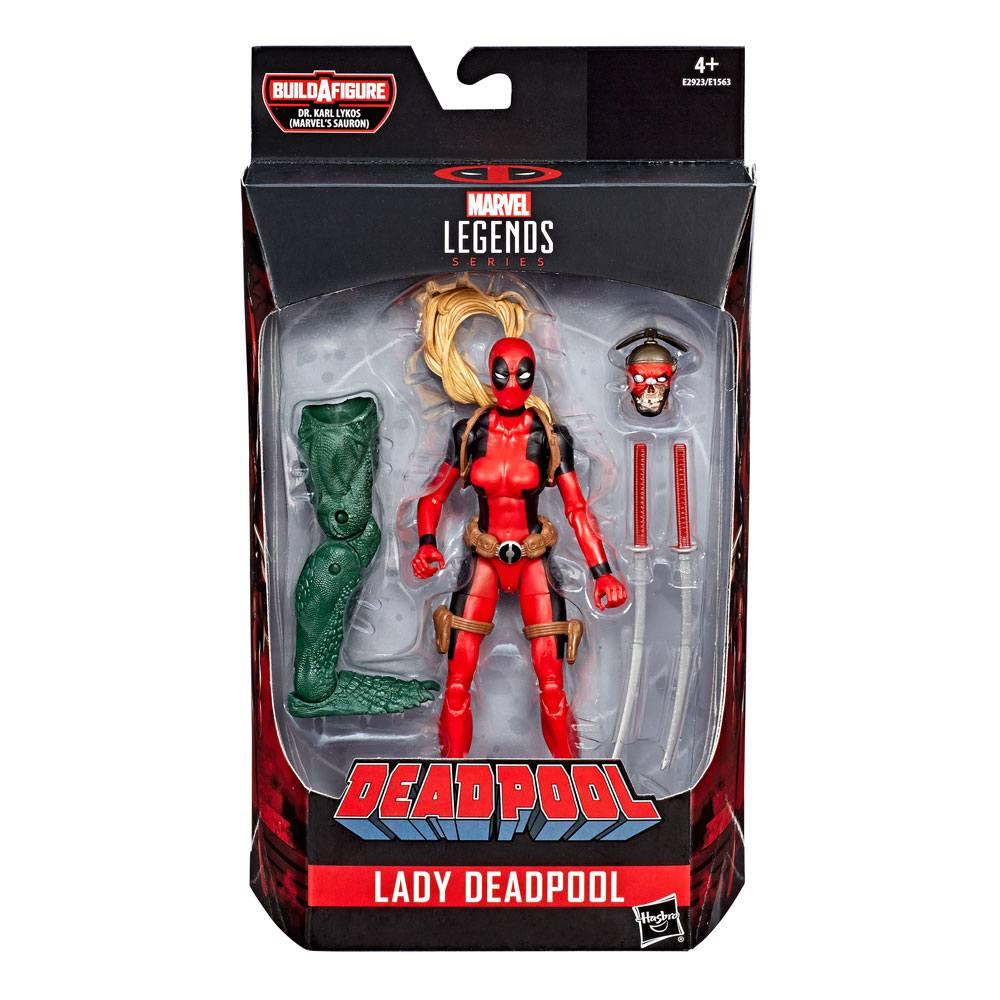 Deadpool Marvel Legends Wave 2 Action Figure Lady Deadpool 15 cm