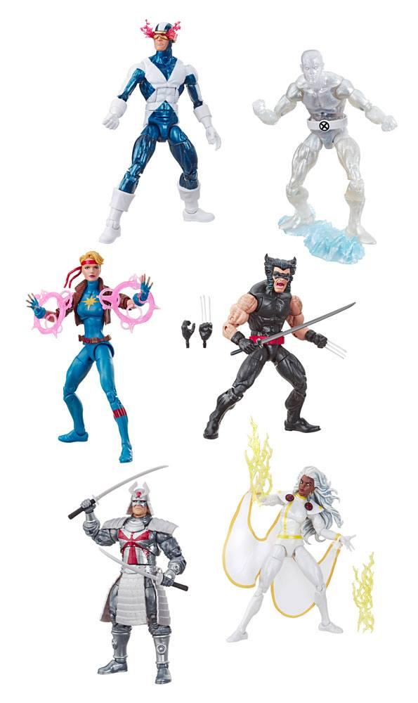Uncanny X-Men Retro Action Figures 15 cm 2019 Wave 1 Assortment (6)