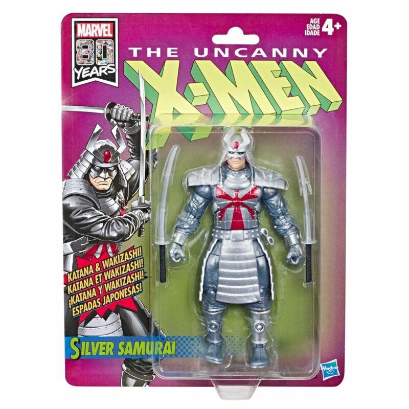 Marvel Legends Wave 1 2019 Uncanny X-Men Retro Action Figure Silver Samurai 15 cm