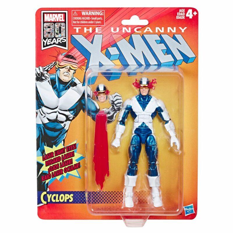 Marvel Legends Wave 1 2019 Uncanny X-Men Retro Action Figure Cyclops 15 cm