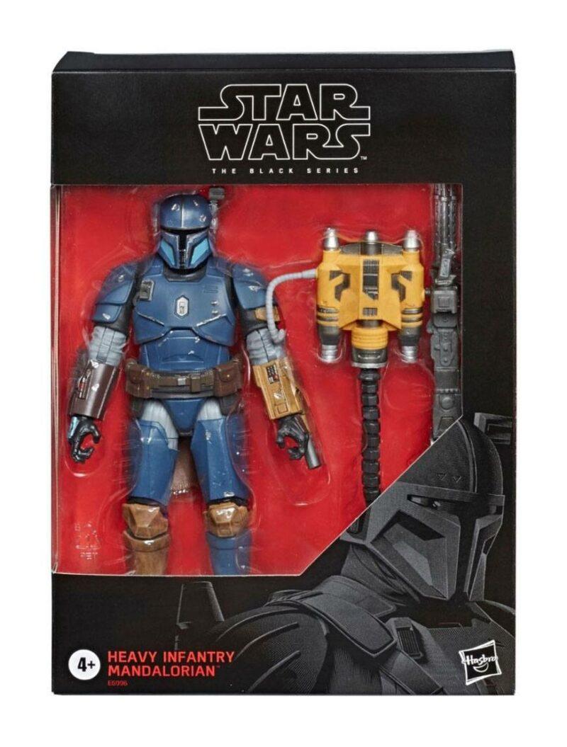 Star Wars The Mandalorian Black Series Action Figure Heavy Infantry Mandalorian Exclusive 15 cm