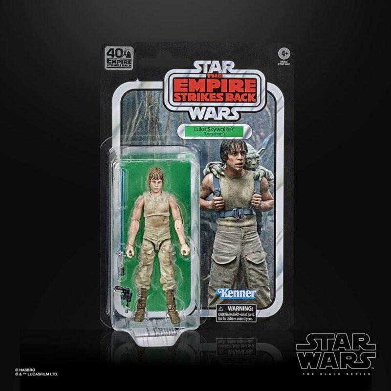Star Wars Episode V Black Series 40th Anniversary 2020 Wave 3 Action Figure Luke Skywalker (Dagobah) 15 cm