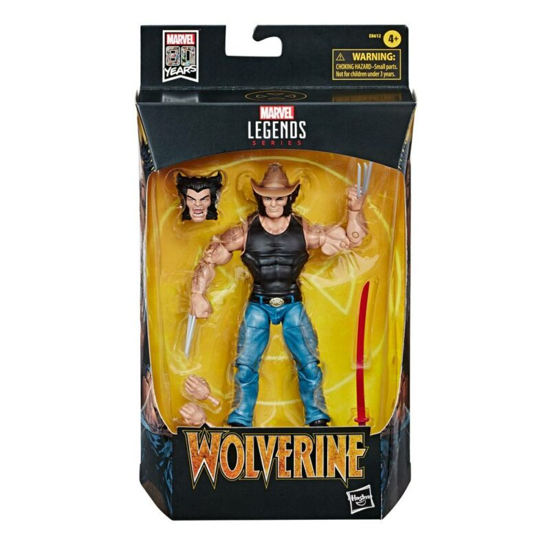 Marvel Legends 80th Anniversary Action Figure Cowboy Logan 15 cm