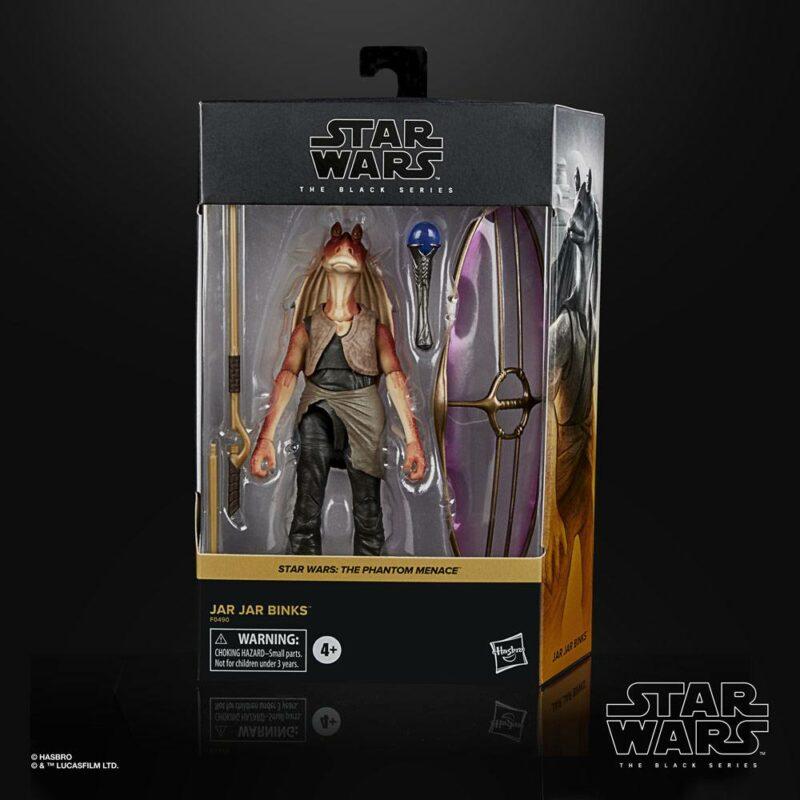 Star Wars Episode I Black Series Deluxe Action Figure 2021 Jar Jar Binks 15 cm