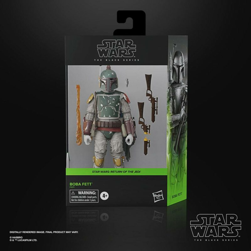 Star Wars Episode VI Black Series Deluxe Action Figure 2021 Boba Fett 15 cm