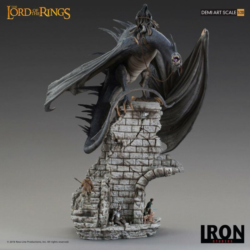 Lord Of The Rings Demi Art Scale Statue 1/20 Fell Beast 70 cm