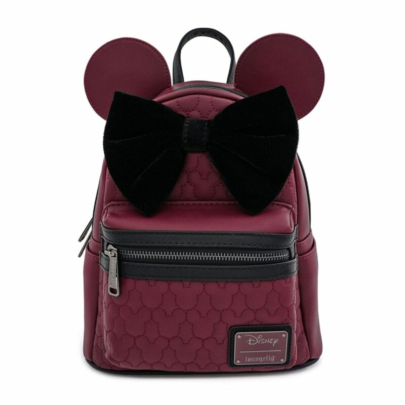 Disney by Loungefly Backpack Dark Red Mickey Mouse