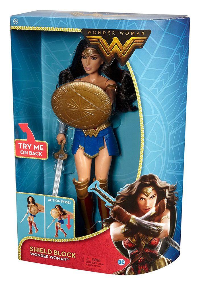 Wonder Woman Movie Deluxe Doll Shield Block 30 cm
