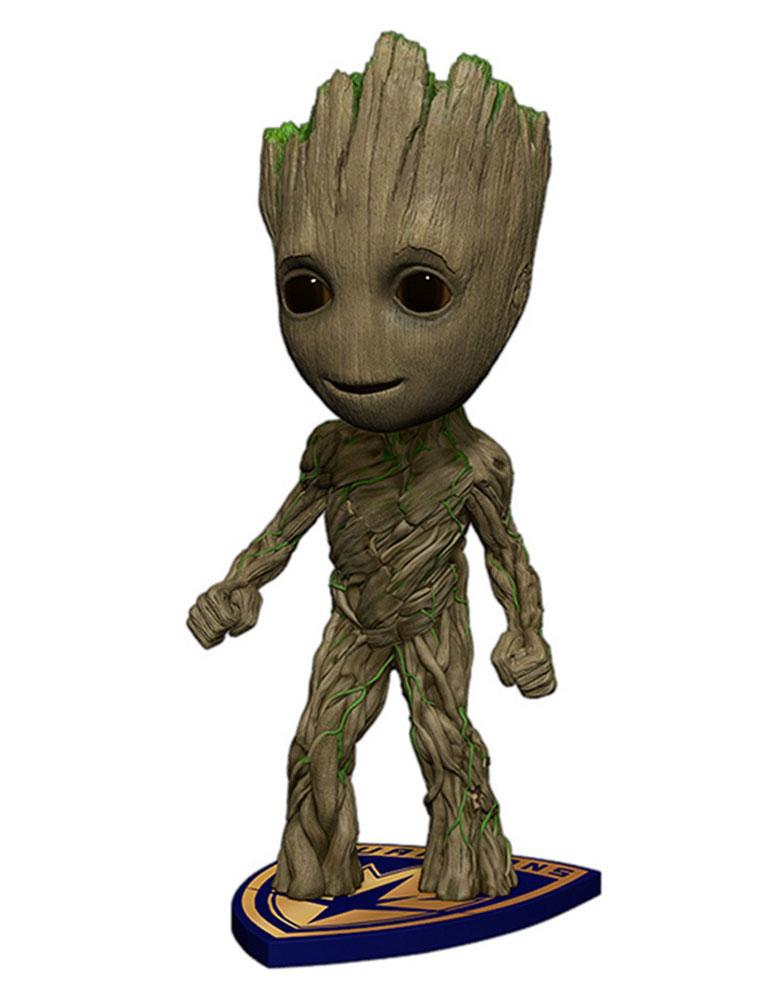 Guardians of the Galaxy Vol. 2 Head Knocker Bobble-Head Groot 18 cm