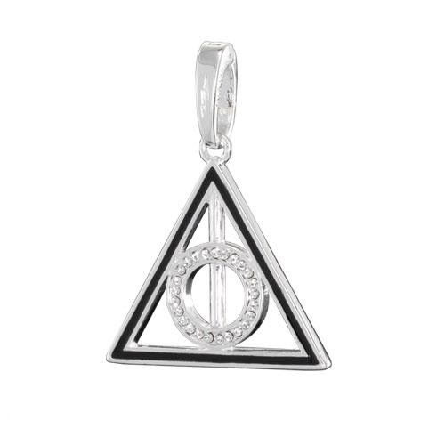 Harry Potter Bracelet Charm Lumos Deathly Hallows