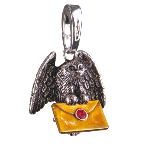 Harry Potter Bracelet Charm Lumos Owl Post
