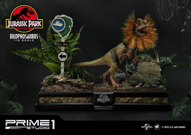 Jurassic Park Statue 1/6 Dilophosaurus Bonus Version 41 cm
