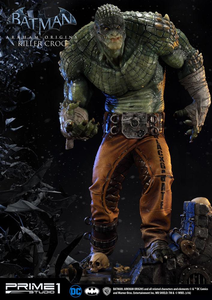 Batman Arkham Origins Statue Killer Croc 90 cm