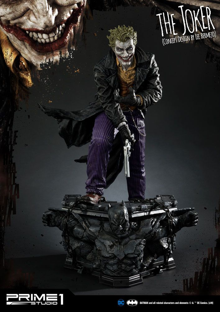 DC Comics Statue The Joker by Lee Bermejo 71 cm