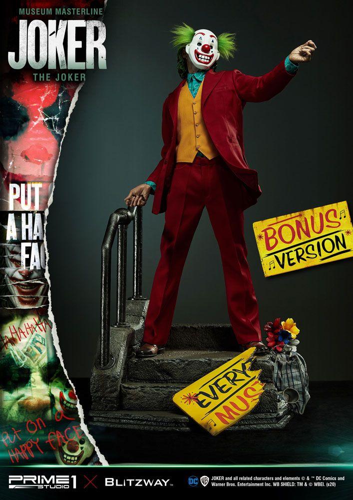 The Joker Museum Masterline Statue 1/3 Joker Bonus Version 70 cm