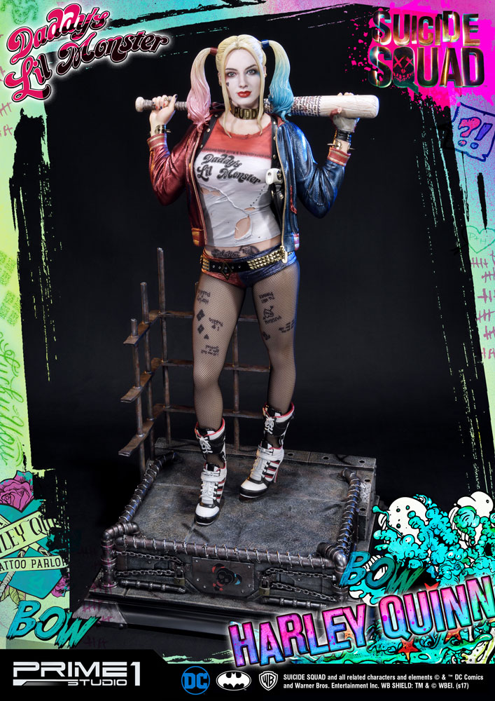 Suicide Squad Statue 1/3 Harley Quinn 72 cm