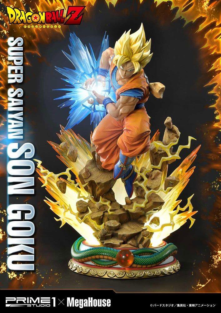 Dragon Ball Z Statue 1/4 Super Saiyan Son Goku 64 cm