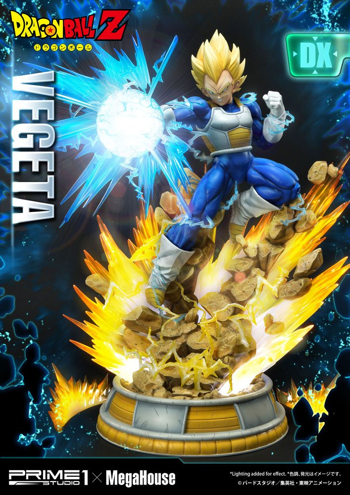 Dragon Ball Z Statue 1/4 Super Saiyan Vegeta Deluxe Version 64 cm