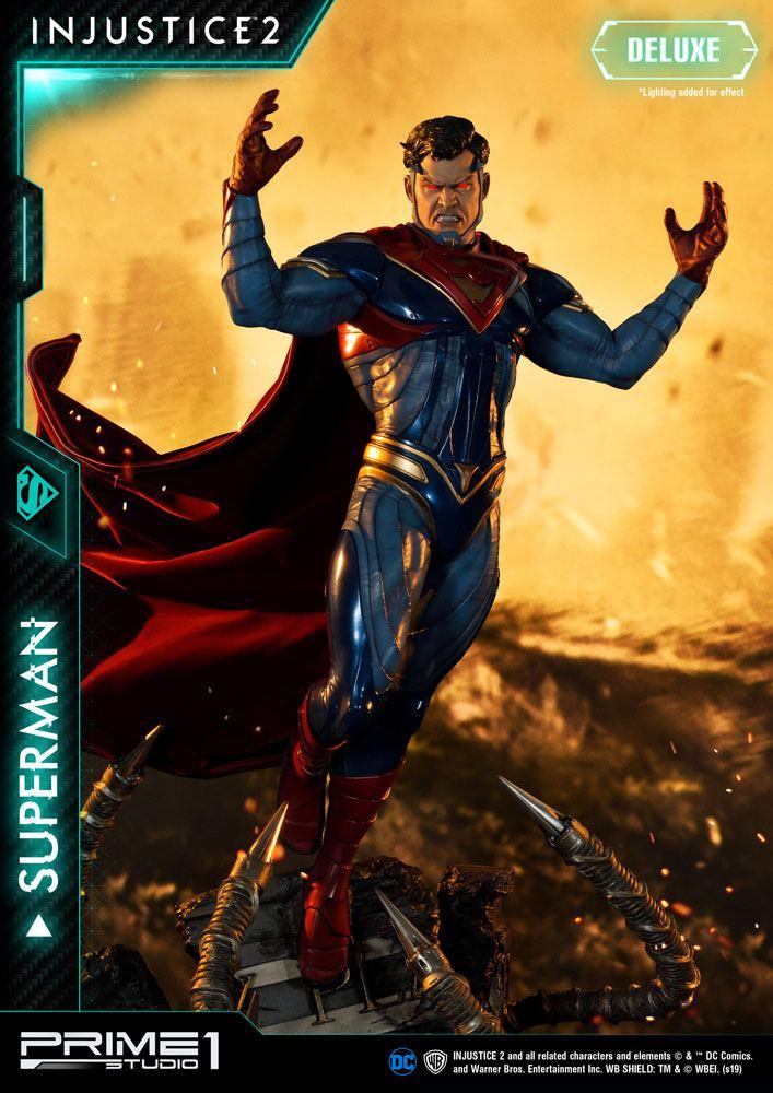 Injustice 2 Statue Superman Deluxe Version 74 cm