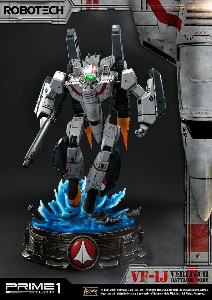 Robotech Statue VF-1J Officer's Veritech Battloid Mode 52 cm