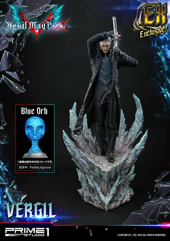 Devil May Cry 5 Statue 1/4 Vergil Exclusive Version 77 cm