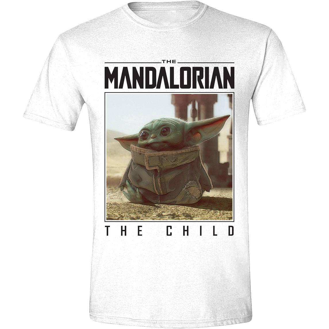 Star Wars The Mandalorian T-Shirt The Child Photo