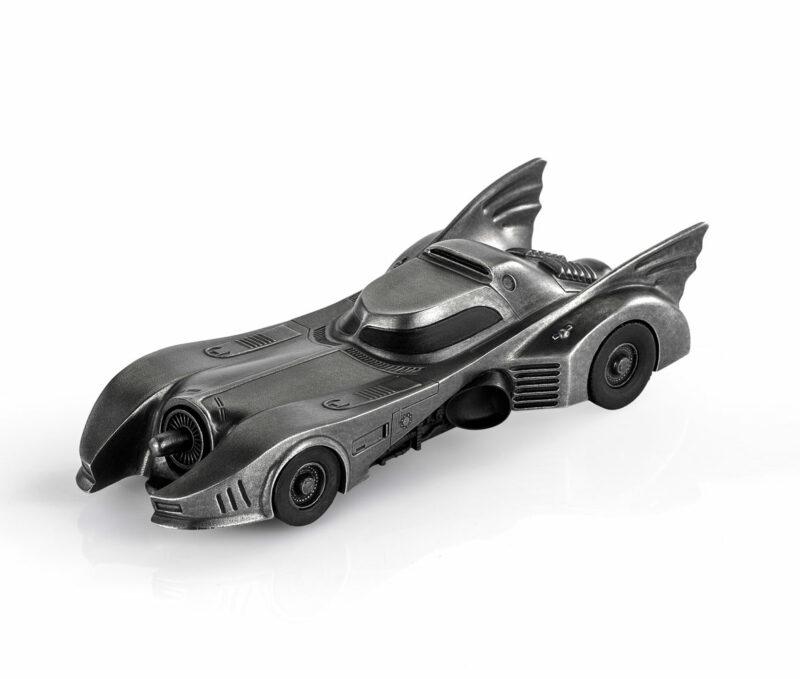 DC Comic Pewter Collectible Statue 1/12 Batmobile 18 cm